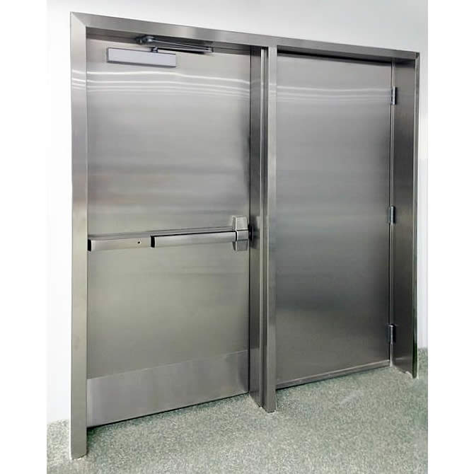 puertas para ba o en acero inoxidable