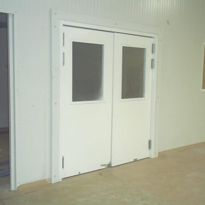 Bering de m xico puertas comerciales met licas for Puerta industrial